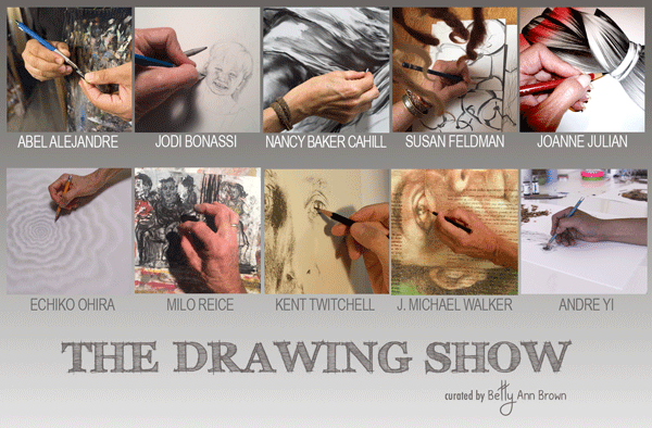The DRAWING Show – curated by Betty Ann Brown