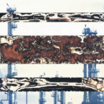 Chemigram with Disappearing Oil Refinery, 2015